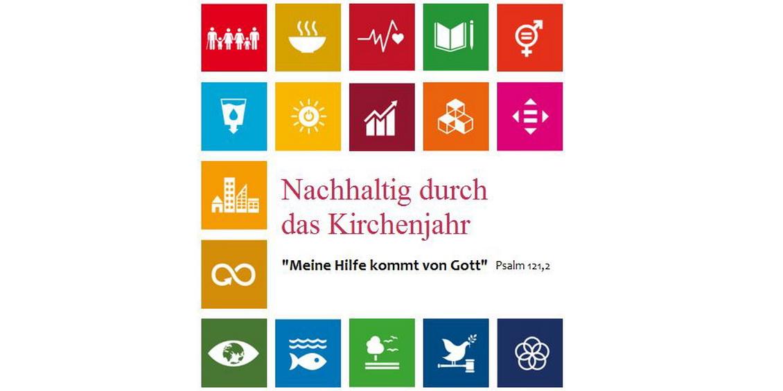 Deckblatt Materialheft - Nachhaltig durch das Kirchenjahr