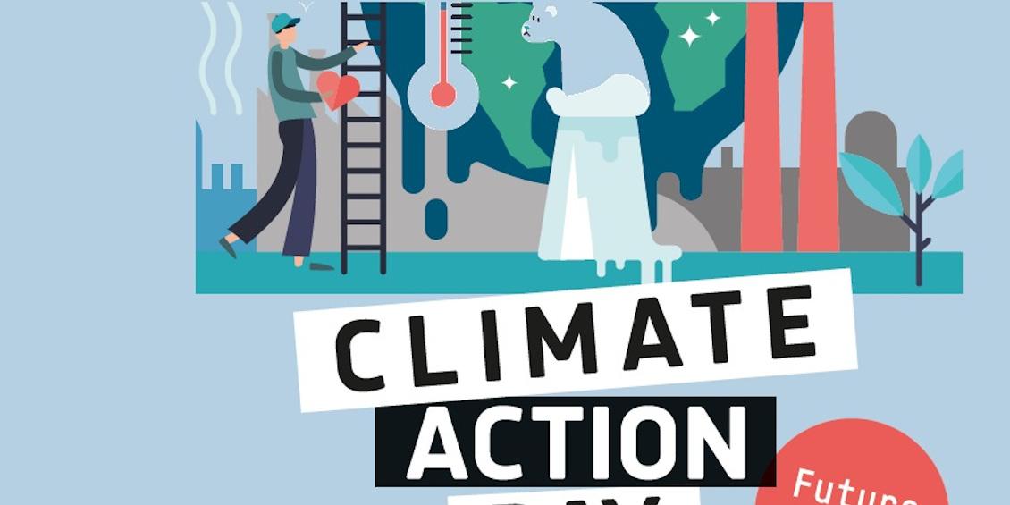 Postkartenmotiv zeigt den Klimawandel