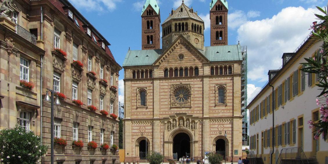 Blick auf den Dom zu Speyer